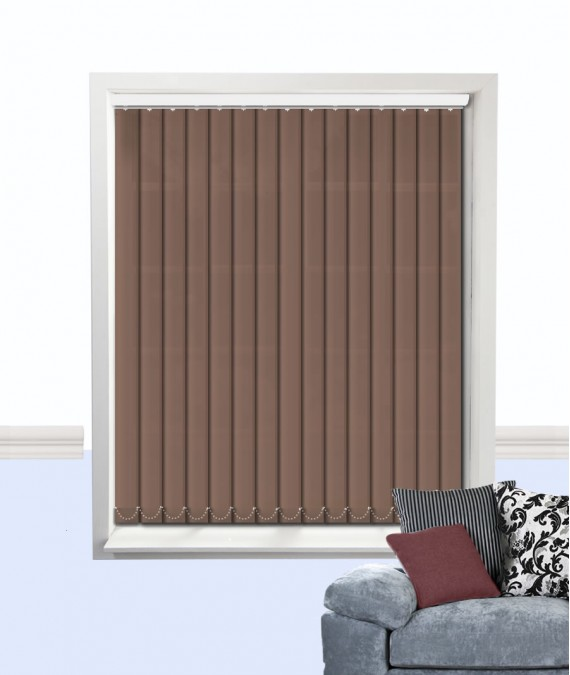 Palette Vertical Blind Fudge