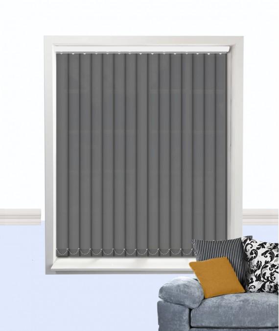 grey vertical blind by atlantex. Black Bedroom Furniture Sets. Home Design Ideas