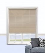 Cypress Roman Blind Toffee
