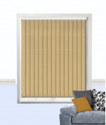 Atlantex Vertical Blind Muted Gold
