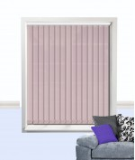 Palette Vertical Blind Rose
