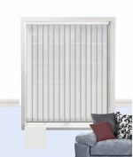 Palette Vertical Blind White
