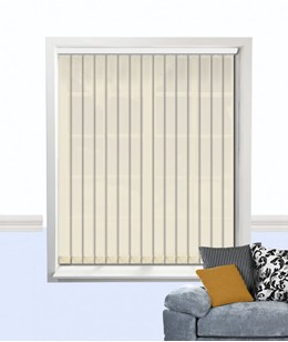 atlantex vertical blind cream