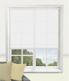 carnival china white roller blind