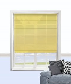 cypres roman blind chartreuse