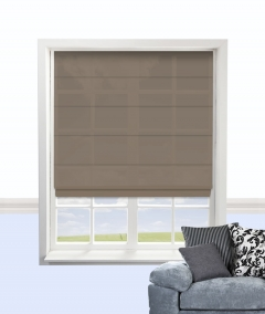 cypres roman blind coffee