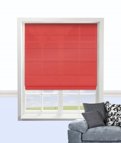 cypress roman blind red