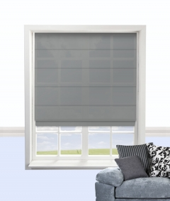 cypress roman blind smoke