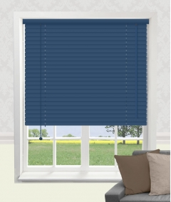 oxford blue aluminium venetian blind