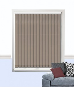 palette vertical blind taupe