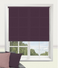 carnival purple roller blind