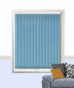 palette vertical blind blue