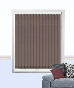 atlantex vertical blind brown