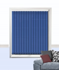 palette vertical blind glacier blue