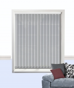atlantex vertical blind silver