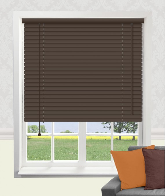 Coffee Aluminium Venetian Blind