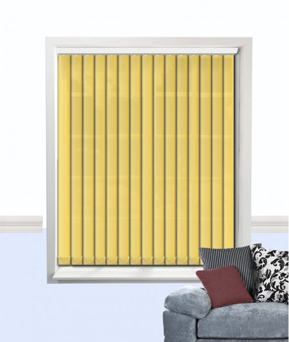 Palette Vertical Blind Sunflower