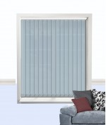 Palette Vertical Blind Smokey Blue