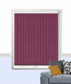 atlantic vertical blind aubergine