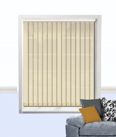 atlantex vertical blind beige
