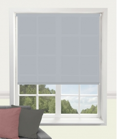 carnival powder blue roller blind