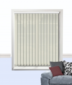 palette vertical blind calico