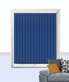atlantex vertical blind dark blue