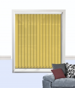 palette vertical blind hemp