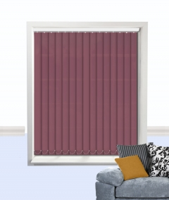 palette vertical blind plum