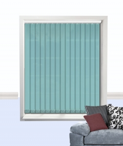 vertical blinds sea blue