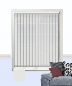 atlantex vertical blind white